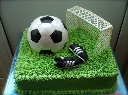 Торт своими руками для футболиста