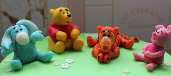 фигурки на детском торте из мастики уркашение