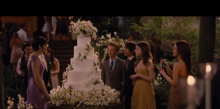 торт из фильма сумерки свадьба бэлы