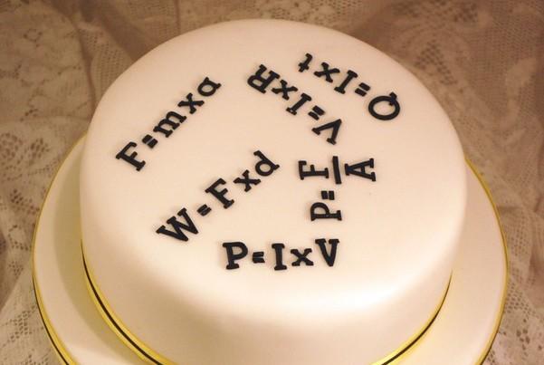 математический торт торт на день учителя