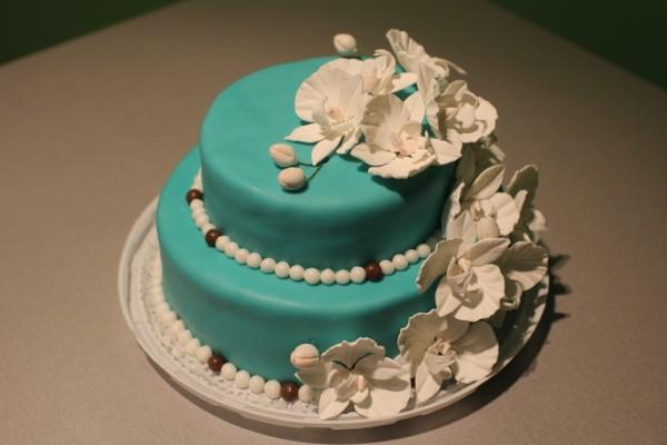 цвет морской волны бирюзовый свадебный торт