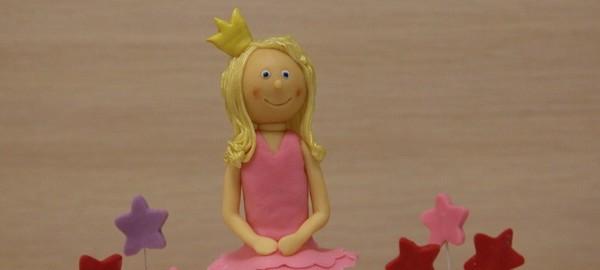 торт на годик принцесса на горошине мастика