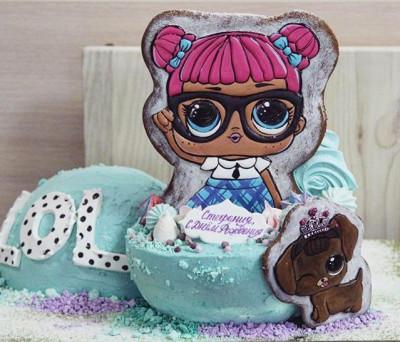 "Торт ""Кукла LOL"""