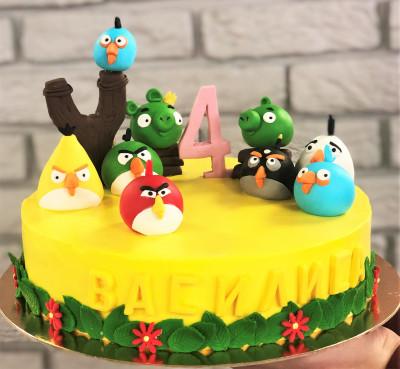 """Торт """"Angry Birds"""""""