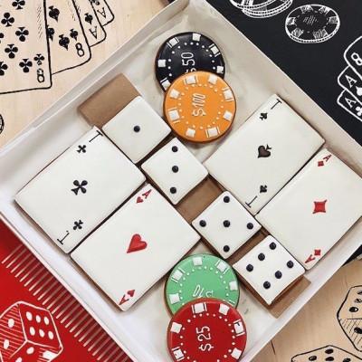 """Набор пряников """"Poker"""""""