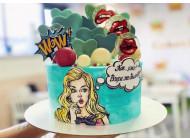 Торт в стиле pin-up
