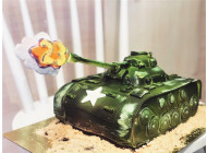 Торт-танк для WarGaming