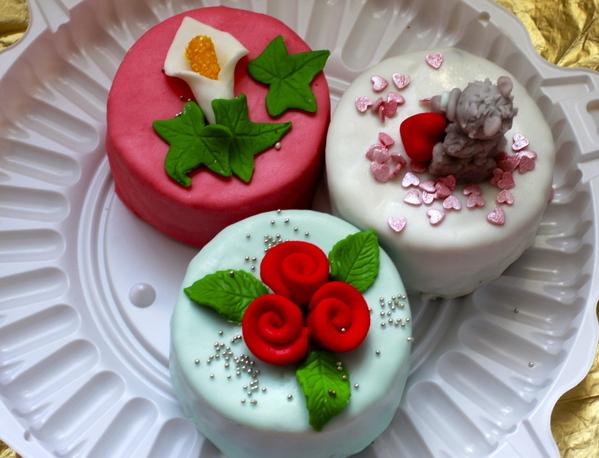 мини тортики или капекейки на свадьбу в минске
