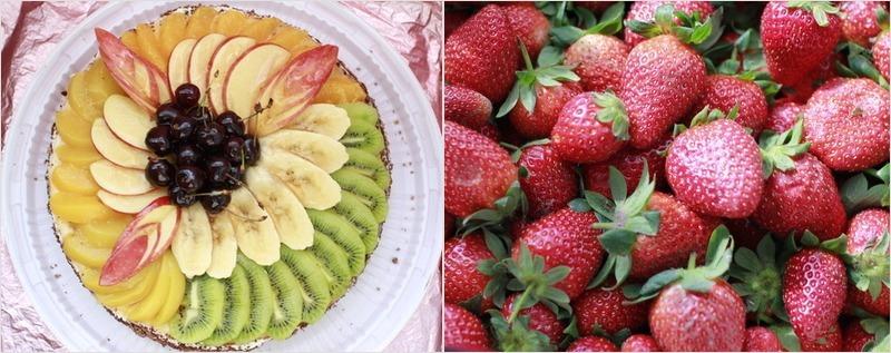 фруктовый летний торт