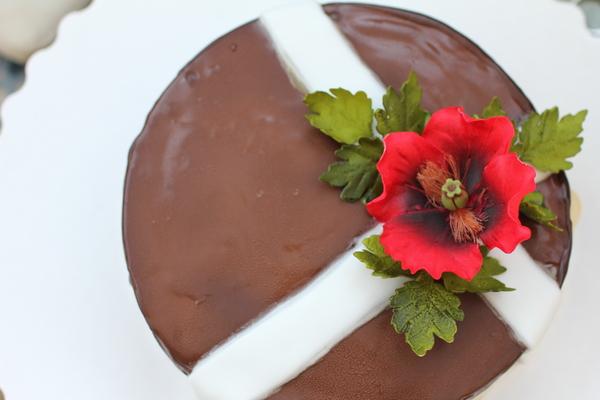 покрытие из шоколада на торте