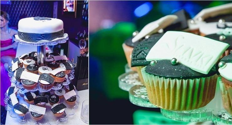 капкейки и мини торт минск сливки клуб
