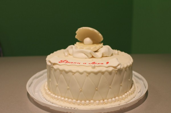 жемчужная свадьба что подарить торт на годовщину жемчуг