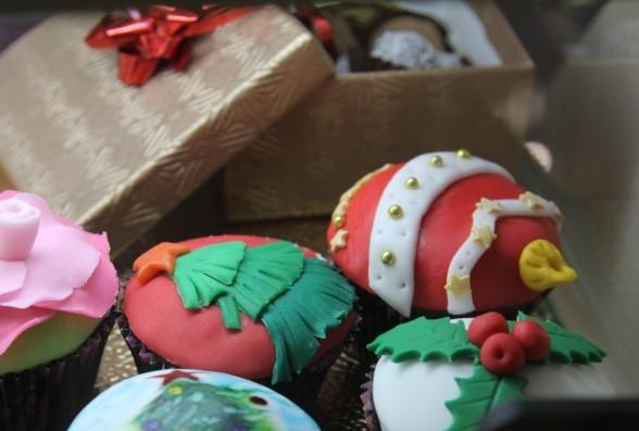 новогодние подарки минск капкейки