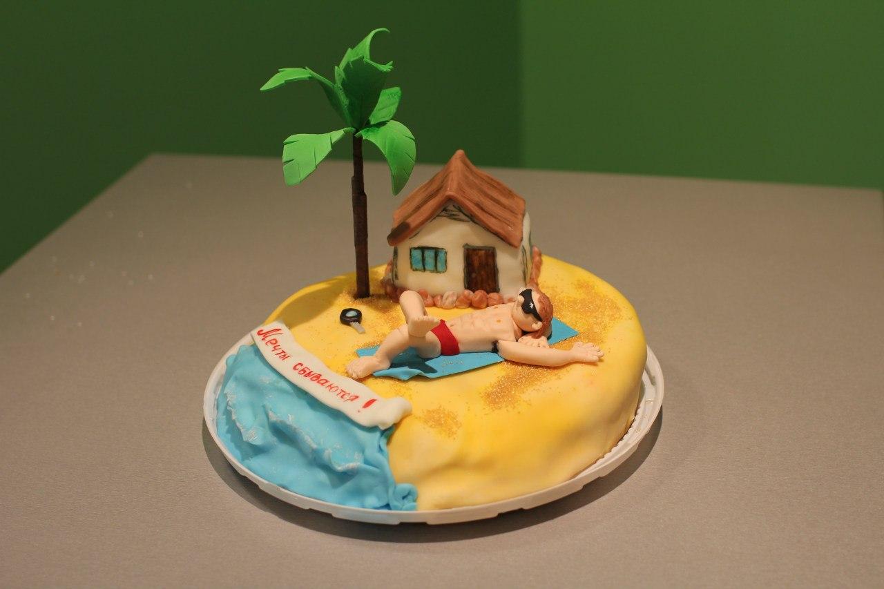 Пляж картинки для торта