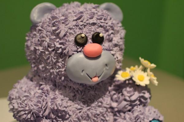 торт на заказ в минске торт в виде медведя игрушка подарок