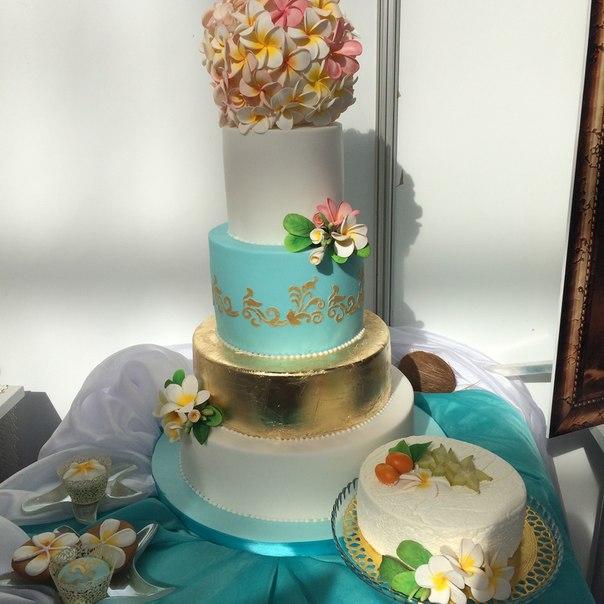 сочетание цветов на свадьбе шикарный свадебный торт золотой торт