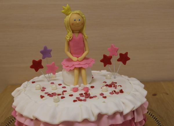 торт для девочки на день рождения красивый