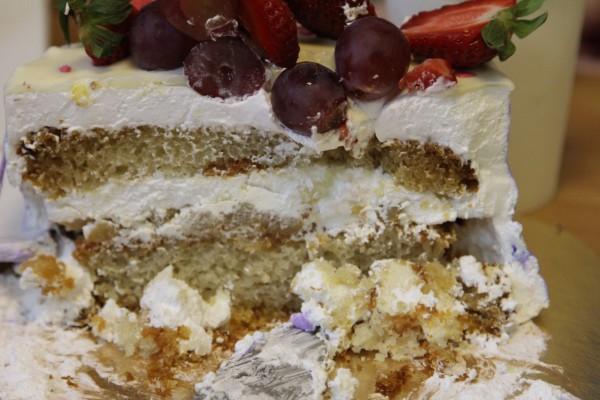 грушевый торт без глютена