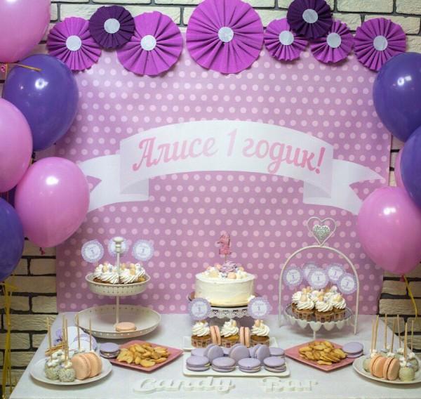 кенди бар для девочки розовый