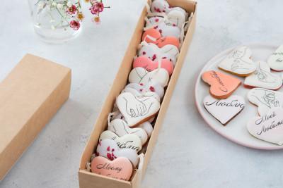 Набор с мини-сердечками
