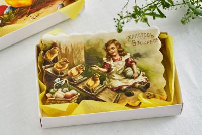 Пряник открытка «Cтарая пасха»