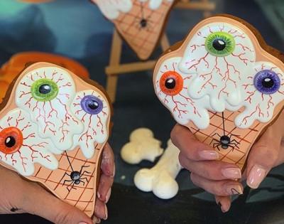 """Пряник """"Мороженное с глазами"""""""