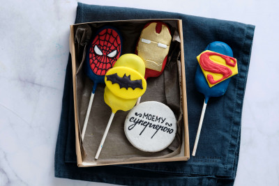 Набор кейкпопс Супергерои