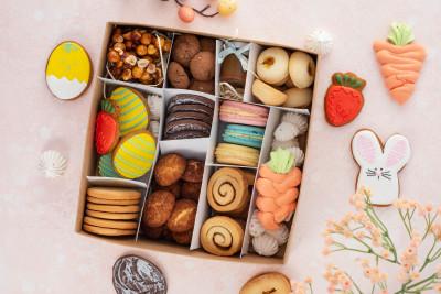Большой набор печенья на Пасху