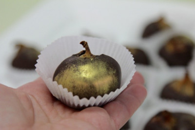 Инжир в шоколаде с трюфелем