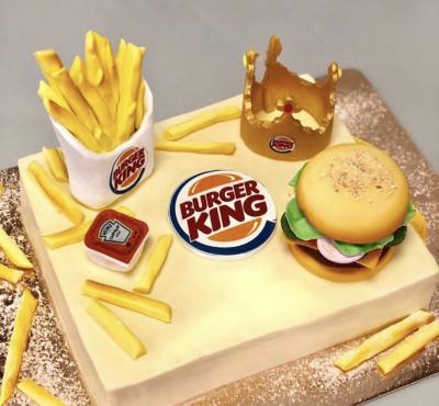 """Торт для """"Burger King"""" корпоративный"""