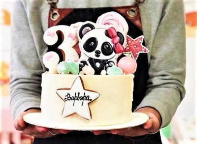 Торт с пандой