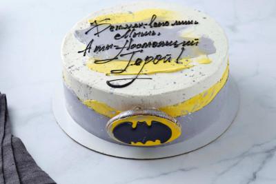 Торт Бетмен для мужчины