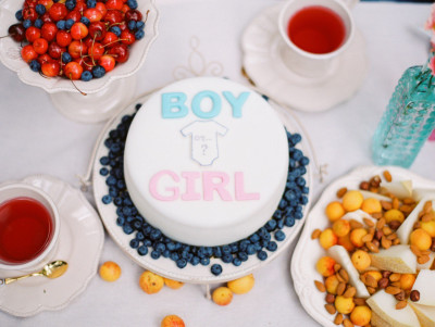 """Торт """"Мальчик или девочка?"""""""
