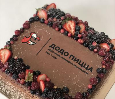 """Торт """"Додо"""" для популярной сети пиццерий"""