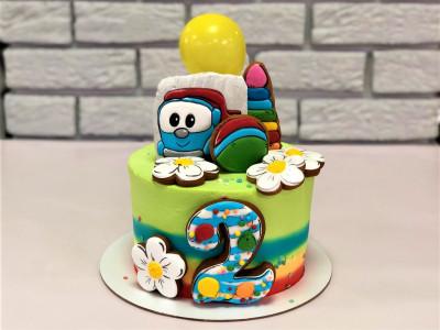 Торт с Грузовичком Левой