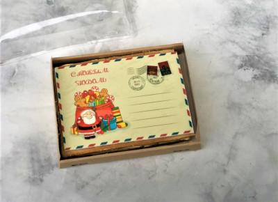 """Торт """"Новогодняя открытка"""""""