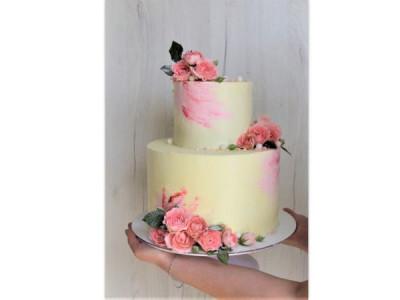 """Торт """"Розовые розы"""""""