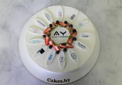 Торт для корпоративного мероприятия