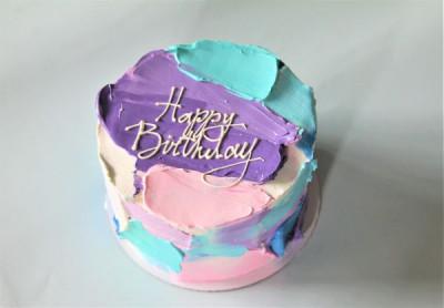 Торт в современном стиле