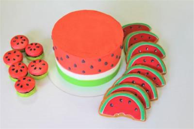 """Торт """"Арбузный"""""""