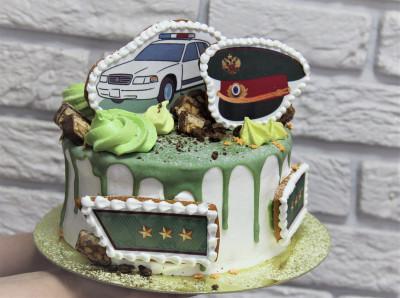 Торт для милиционера