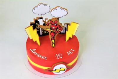 """Торт """"Флеш"""""""