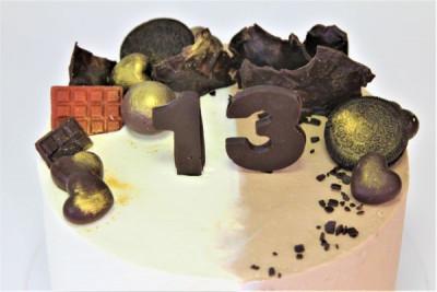 Ванильно-кофейный торт