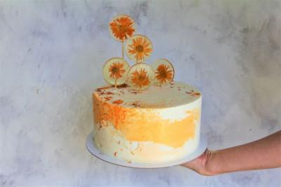 """Торт """"Цветочное настроение"""""""