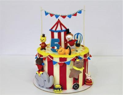 """Торт """"Цирковое представление"""""""