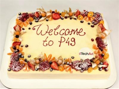 """Корпоративный торт """"TechArt"""""""
