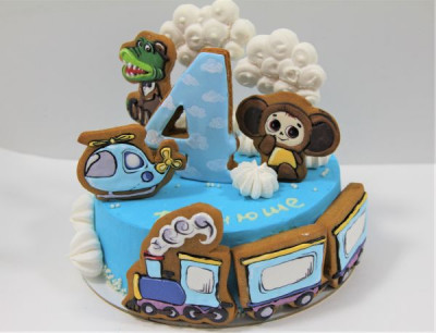 Торт с Чебурашкой