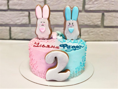 Торт для братика и сестрички