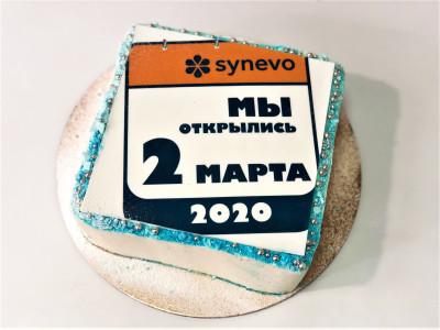 Торт для лаборатории Synevo