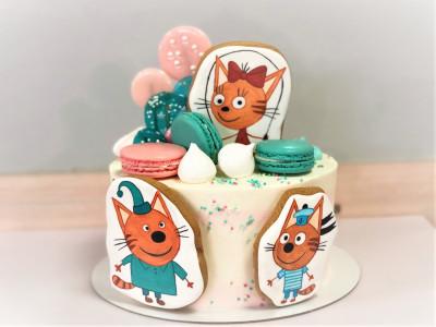 """Торт """"Три кота 2"""""""